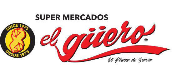 A theme logo of Supermercado El Guero
